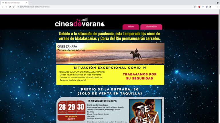 www.cinesdeverano.es
